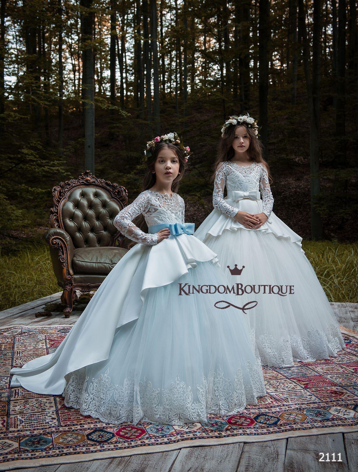 18-2111 | The Flower Girl | Pinterest | Girls dresses, Flower girl ...