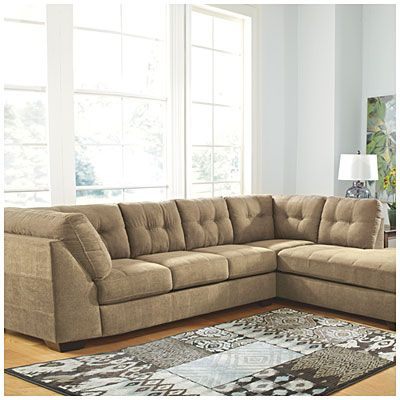 Best Signature Design By Ashley® Driskell Mocha 2 Piece Sectional At Big Lots Cheap Furniture 640 x 480