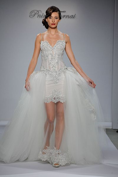 Hot Trend: Wedding Overskirts and Capes | WEDDING - Dress ...