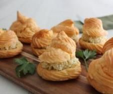 Recipe Leek and three cheese gourgeres by Thermomix in Australia - Recipe of category Starters