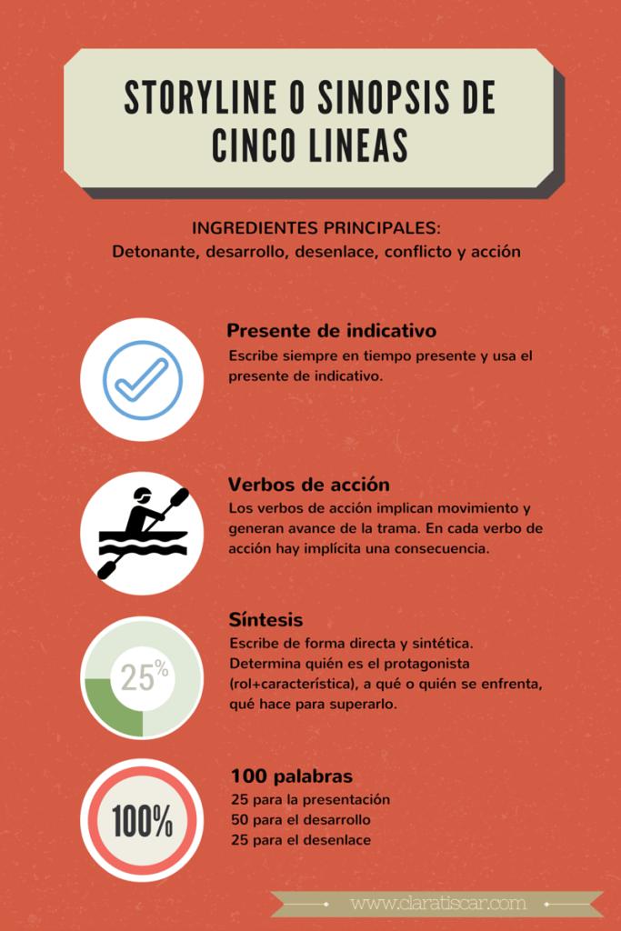 STORYLINE O SINOPSIS DE CINCO LINEAS   infographics   Pinterest ...