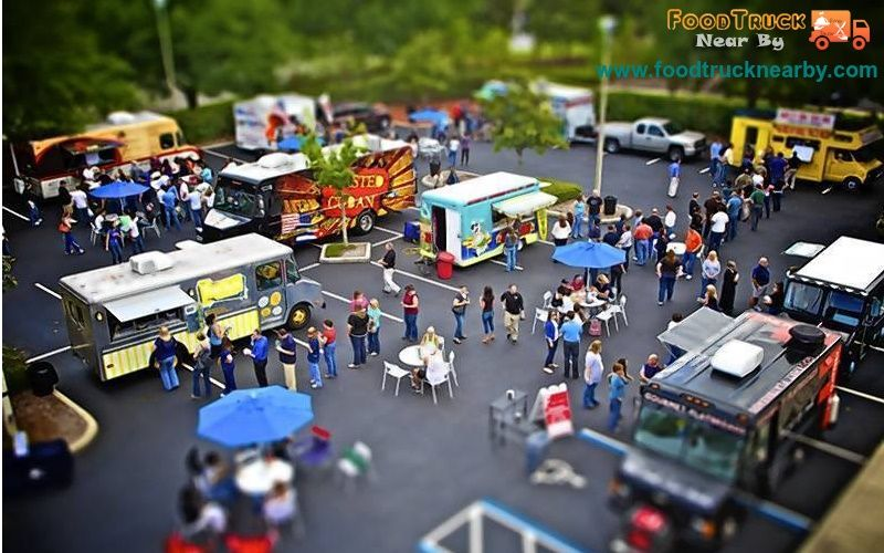 The application provides 'real-time' and 'accurate' location of Food Trucks currently serving near your location.  www.foodtrucknearby.com