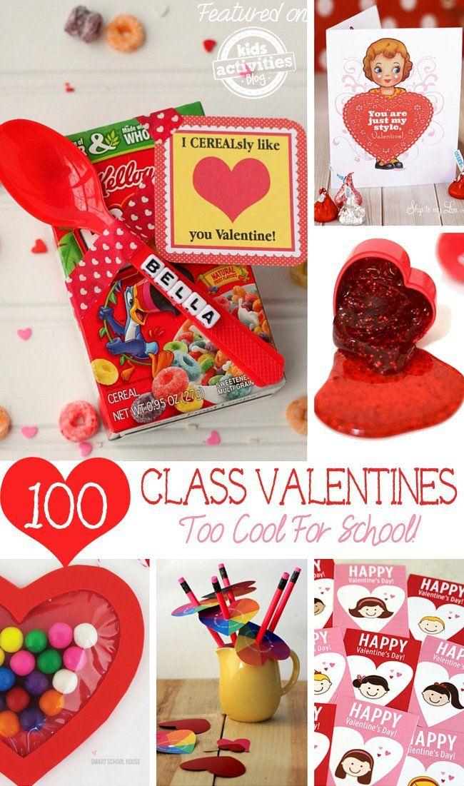 kids valentines for school - Valentine Ideas For School