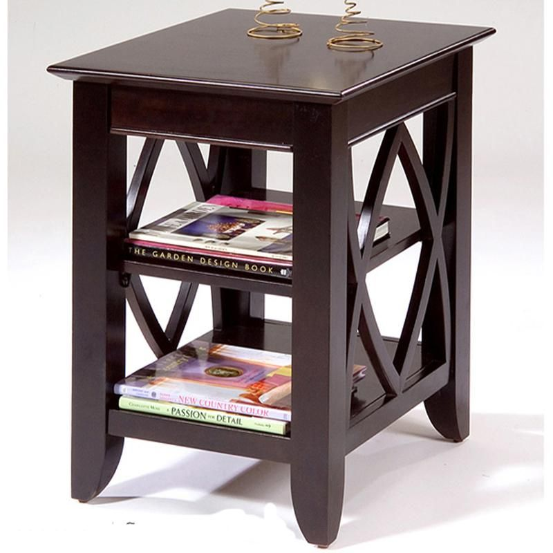 Piedmont Shelf End Table By Liberty Furniture Furniture