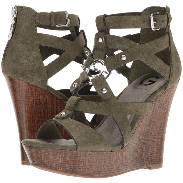 free shipping exclusive G by GUESS Dodge Strappy Wedge S... cheap sale visit new x8YTXkmDdv