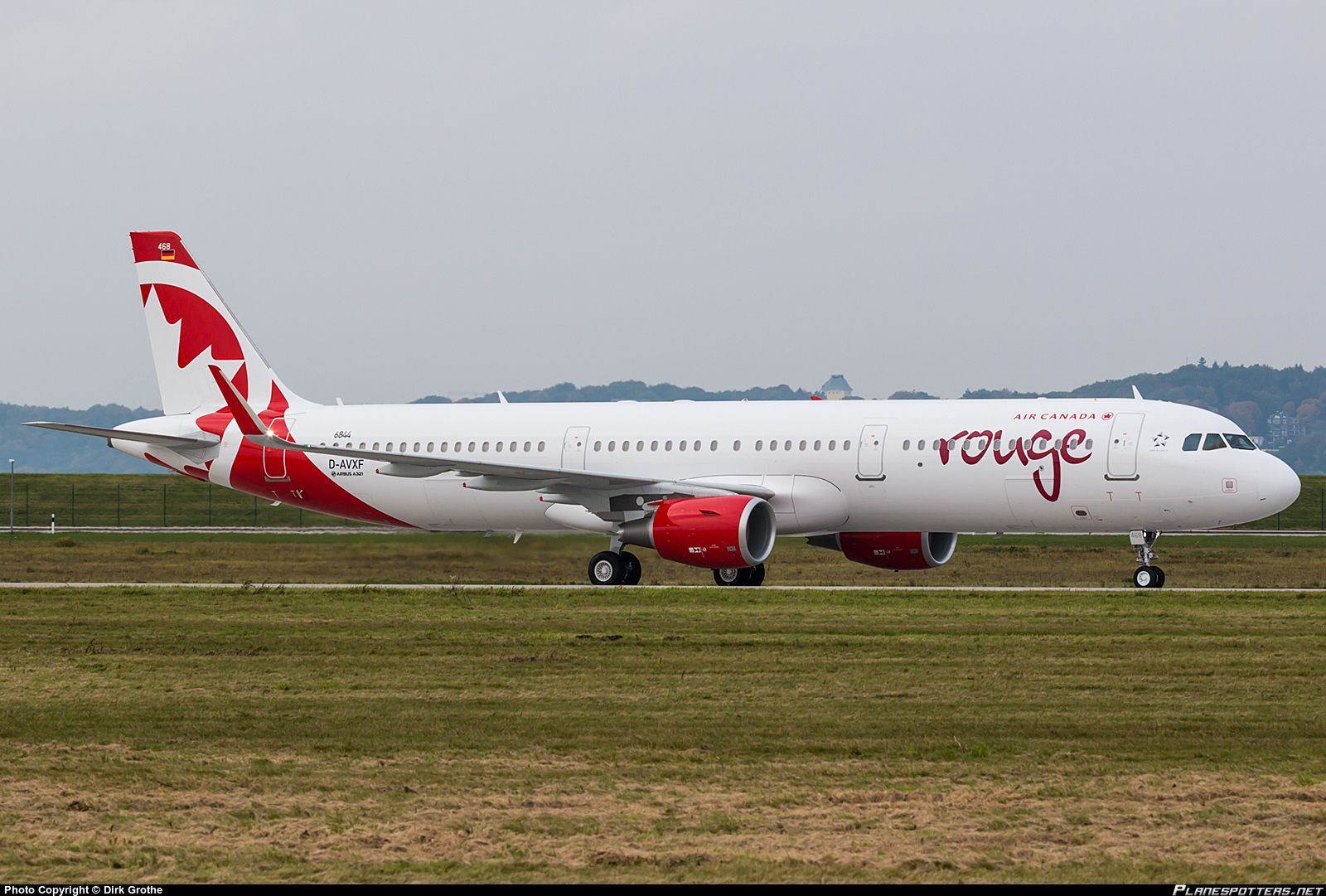 DAVXF Air Canada Rouge Airbus A321211(WL)