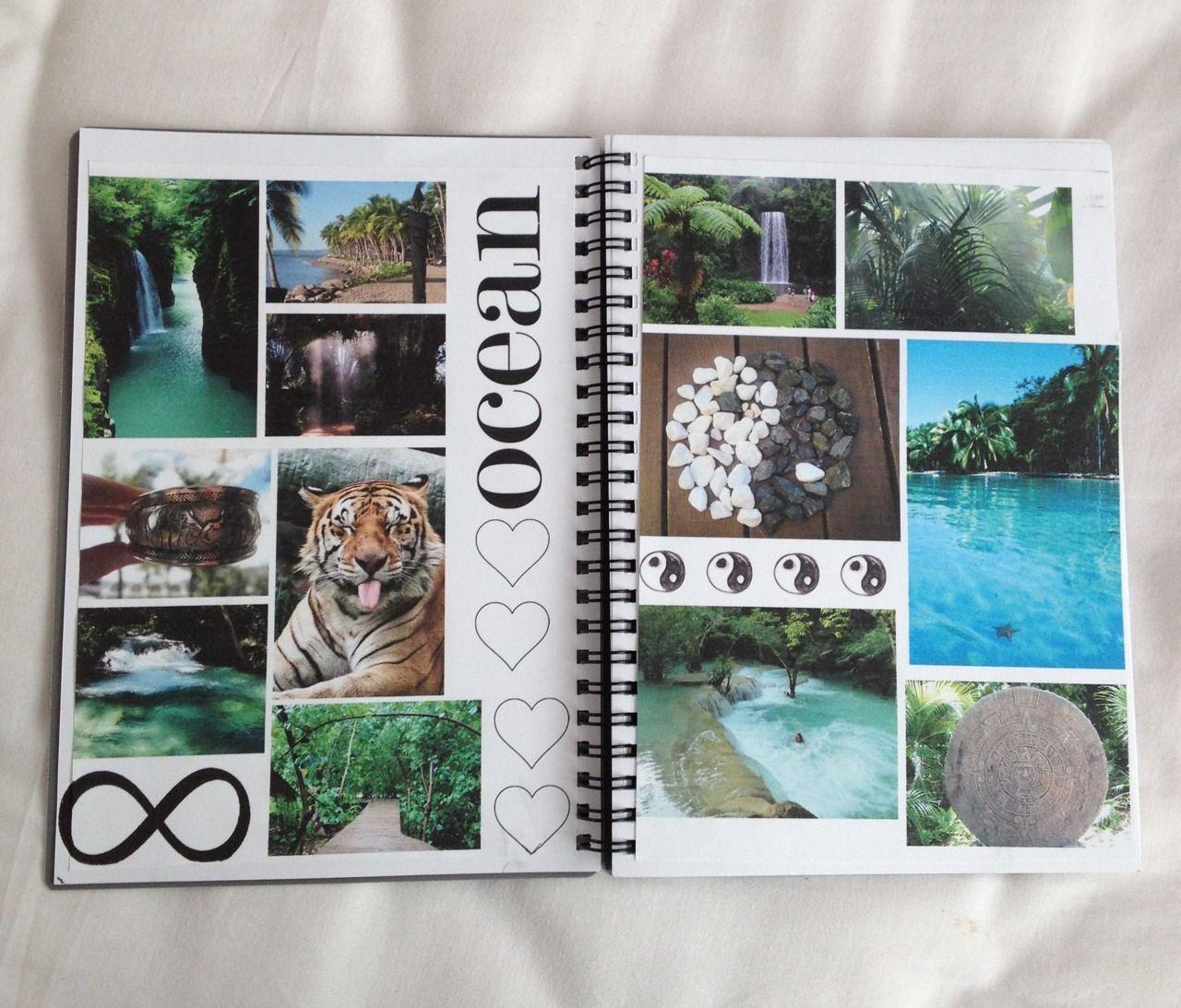 Scrapbook notebook ideas - Bullet Notebook Collagenotebook Ideasdiy