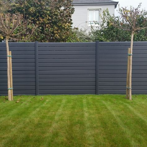 Composite Fence High Quality For Backyard Fence Panels Using Wood