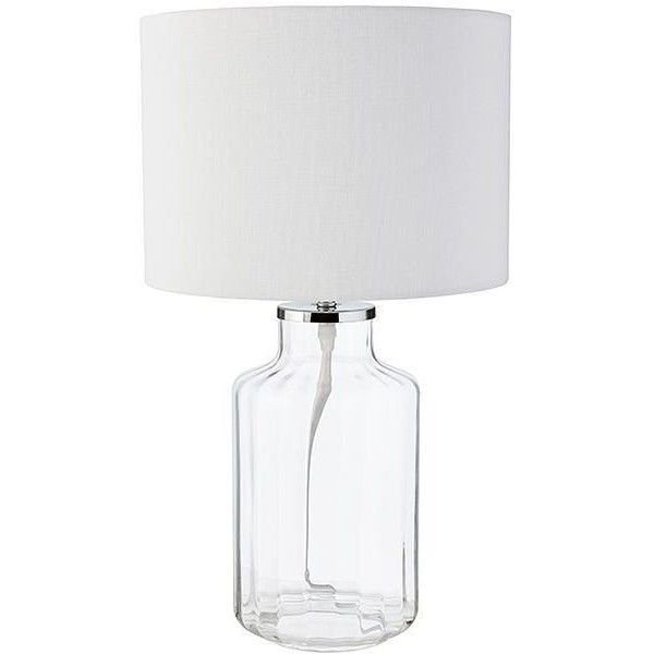 Ivy Glass Table Lamp Target Australia 37 Liked On Polyvore Featuring Home Lighting Table Lamps Round Glass Lamp Shade Glass Table Lamp Glass Table Lamp