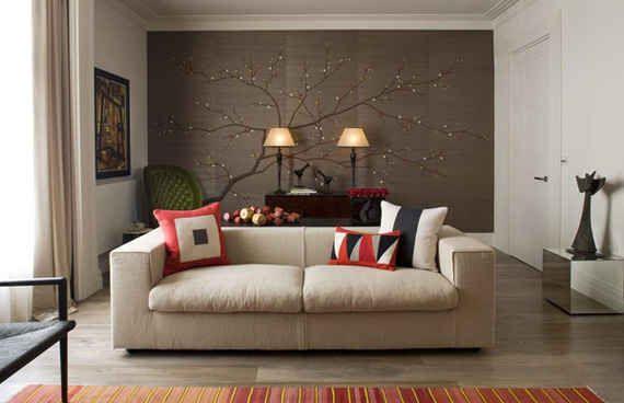 pared de salon (4)   Deco ( Vinilos - Papeles - Tapices - Cuadros ...