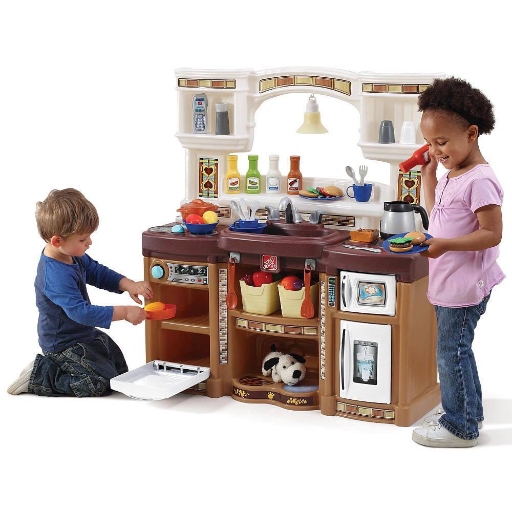 Rise And Shine Kitchen Neutral Step2 Toys R Us Kids Play Kitchen Play Kitchen Toys