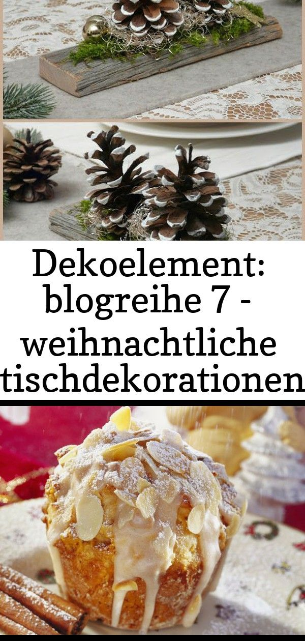 Dekoelement: blogreihe 7 - weihnachtliche tischdekorationen 9 #weihnachtlichetischdekoration