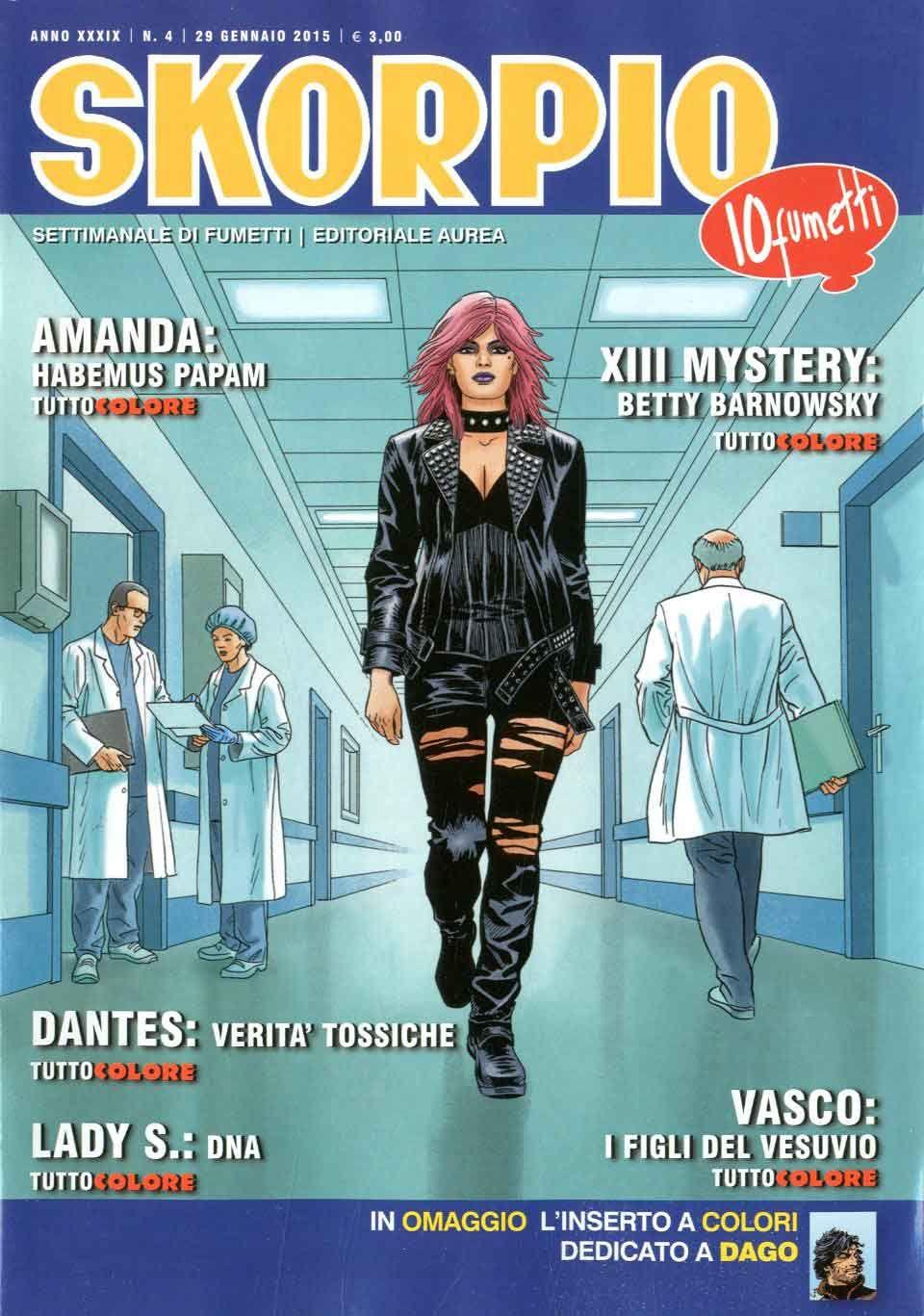 Fumetti EDITORIALE AUREA, Collana SKORPIO ANNEE 39 - 201504