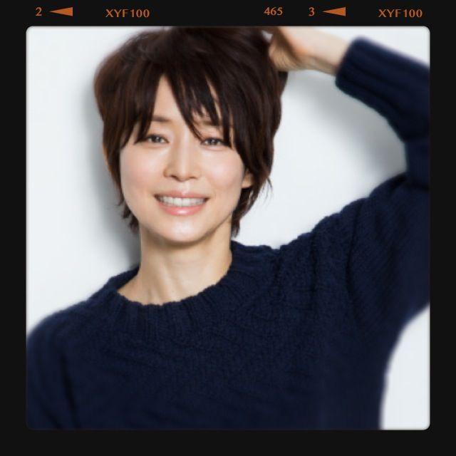 石田ゆり子 Google 検索 ヘアスタイリング ヘアスタイル 短い髪