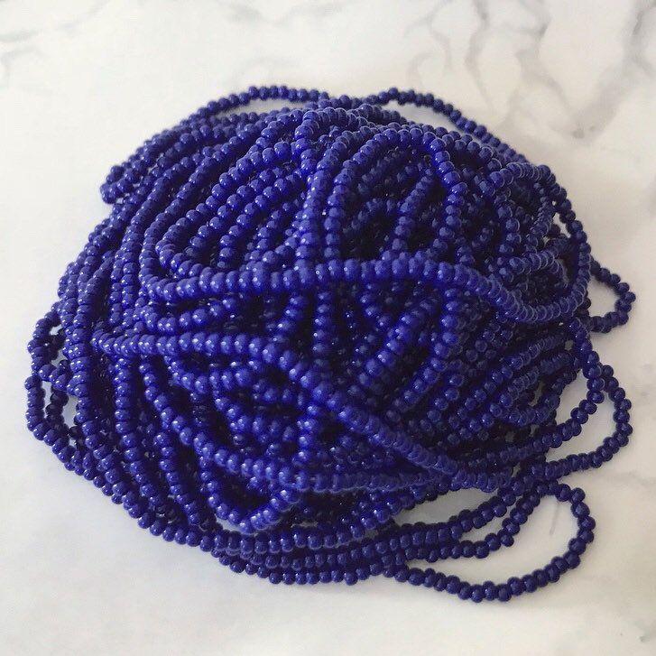 1 Strand Czech Pressed Glass Transparent Cobalt Blue 6mm Round Beads