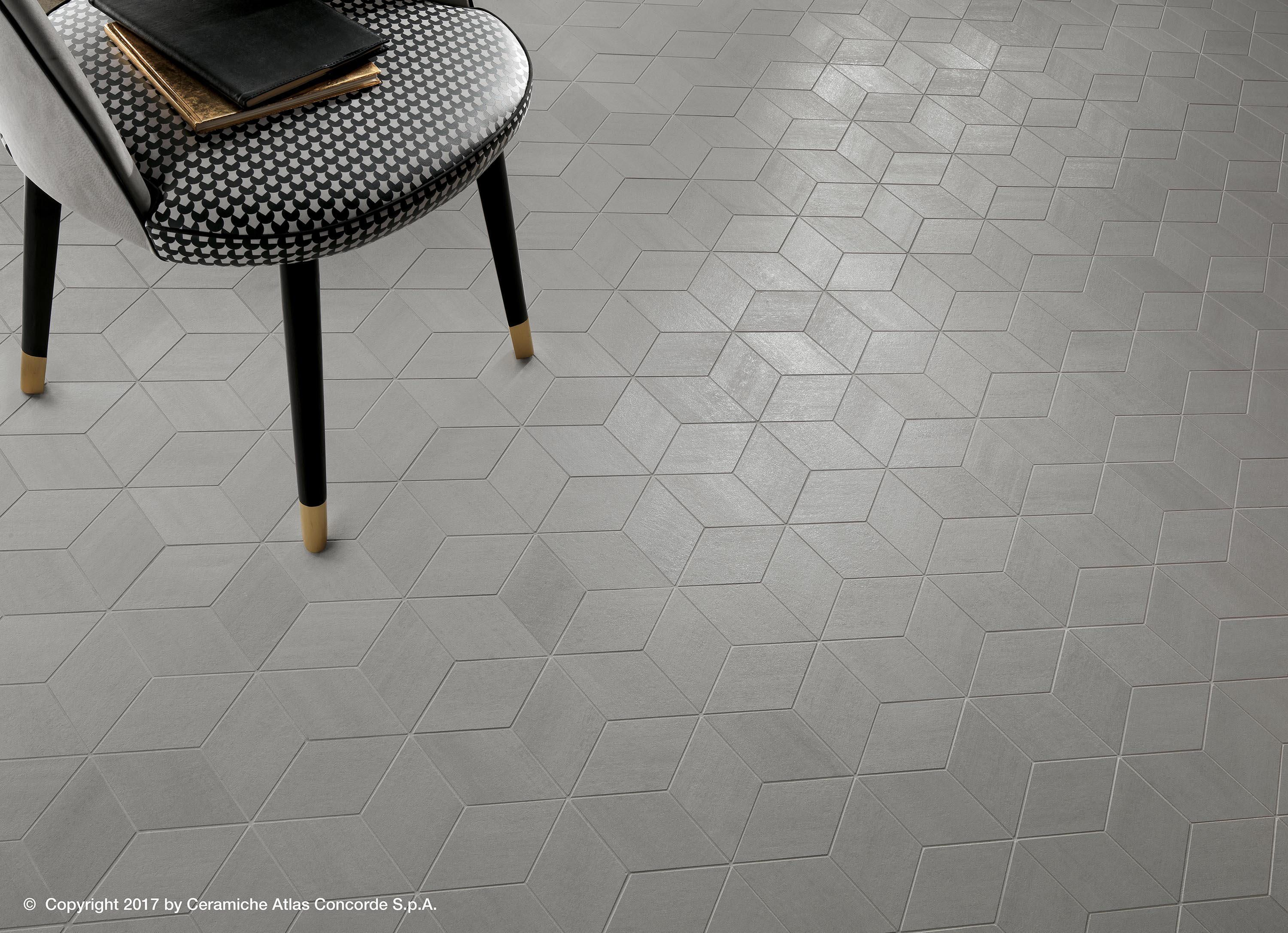 Mek Medium Mos Designer Ceramic Tiles From Atlas Concorde All Information High Resolution Images Cads Geometric Floor Geometric Tiles Mosaic Flooring