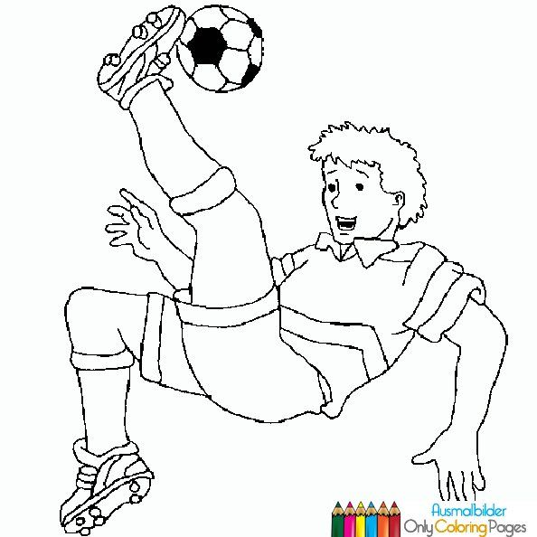 Ausmalbilder Fussball Sports Coloring Pages Coloring Pages For Kids Football Coloring Pages