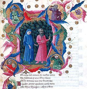 Dante Alighieri - Divina Commedia - Inferno -  Canto I - Sintesi