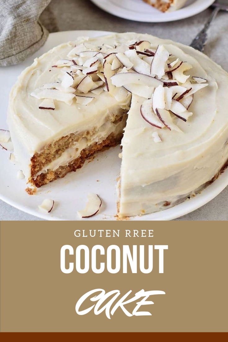 Finally A Tasty Vegan Coconut Cake And What I Love This Is Gluten Free Cake It S Really Healthy Yet Delicio Vegan Coconut Cake Coconut Cream Cake Coconut Cake