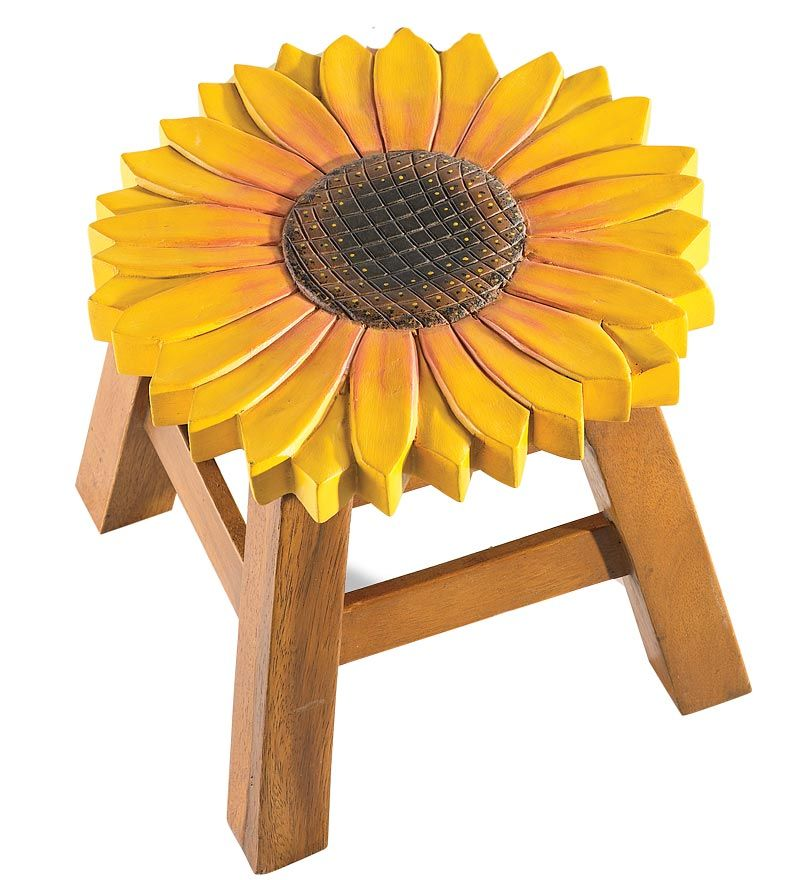 Hand Carved Wooden Stools Plow Amp Hearth Everything