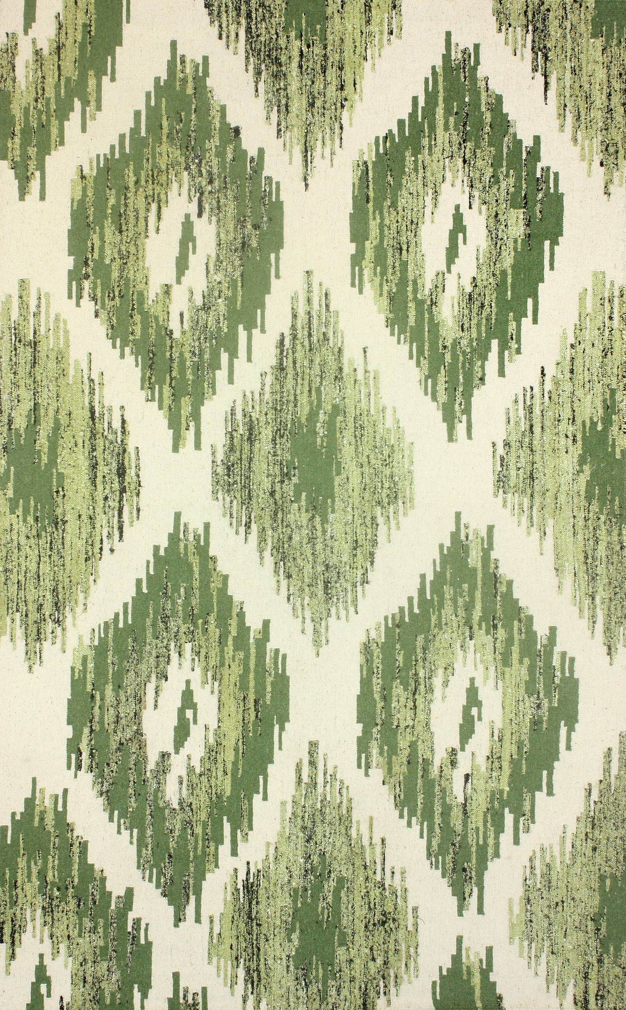 Rugs USA Jasmine FR2 Flatwoven Green Rug,80% Wool, 20% Viscose, Flatwoven, Contemporary, home decor, DIY, interior design.