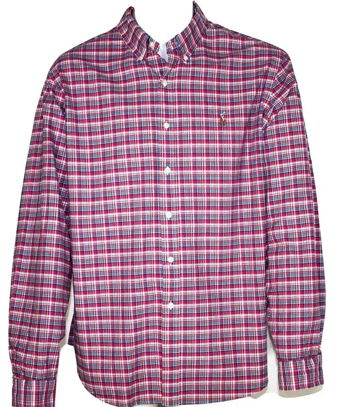 8fbb92ae Polo Ralph Lauren Men's Long Sleeve Oxford Button Down Shirt at Amazon  Men's Clothing store: