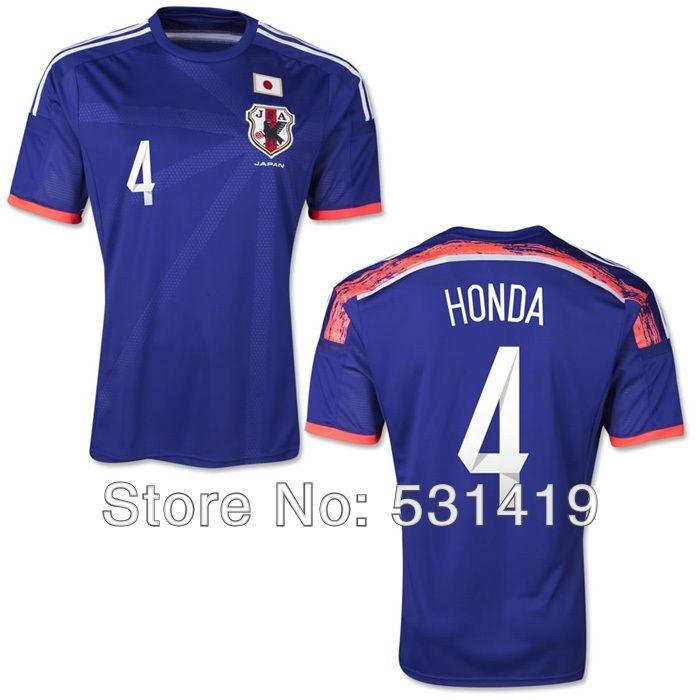 japan soccer jersey 2014 world cup kagawa honda nagatomo atsuto okazaki soccer jersey best thai quality