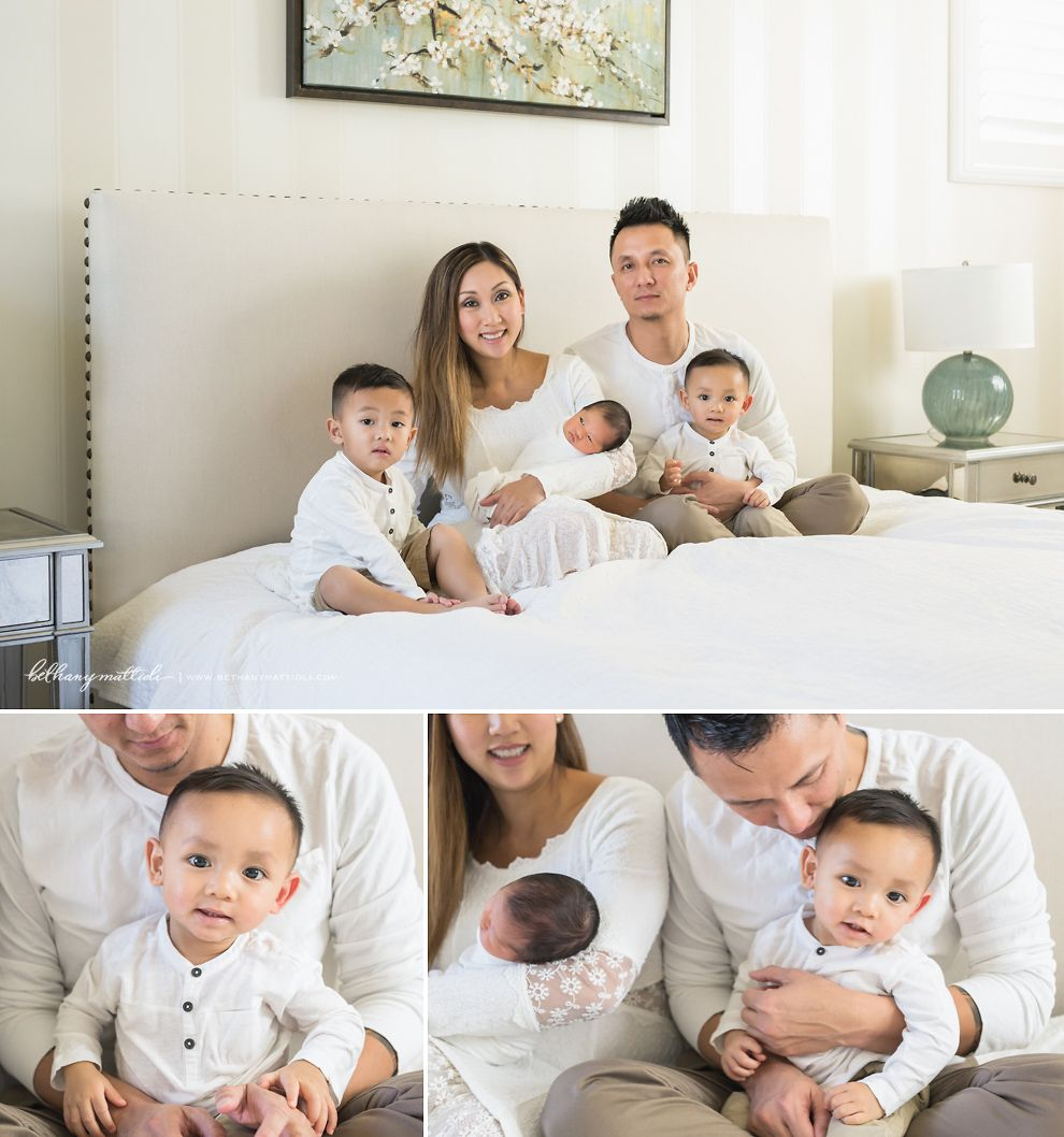 What to wear newborn family session neutrals