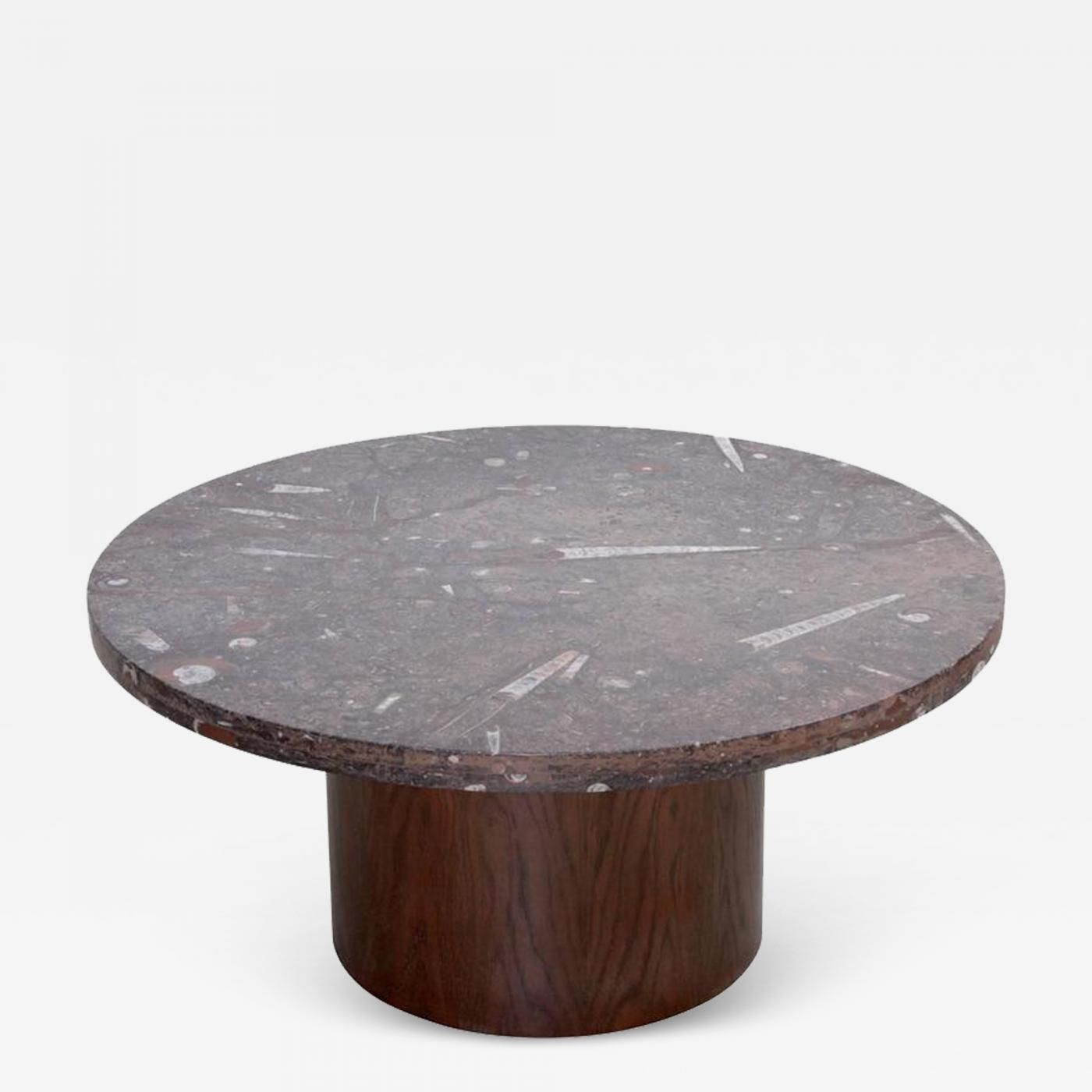 Heinz Lilienthal Heinz Lilienthal Coffee Table With Fossil Stone Top Coffee Table Stone Top Table [ 1400 x 1400 Pixel ]