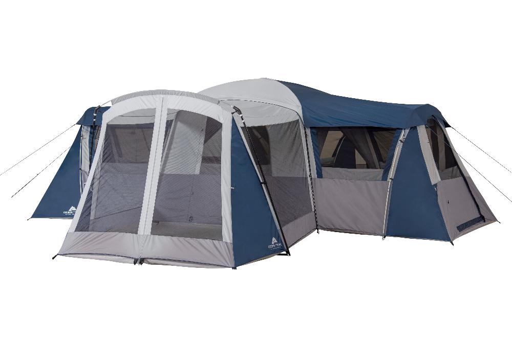 Ozark Trail Hazel Creek 20 Person Star Tent With Screen Room Walmart Com In 2020 Tent Ozark Ozark Trail