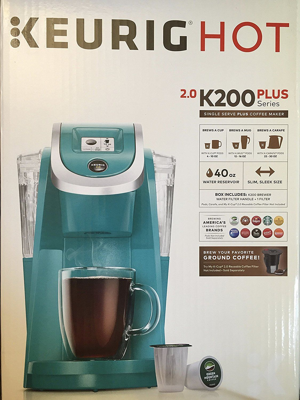 Keurig 2.0 K200 Plus Series Single Serve Plus Coffee Maker