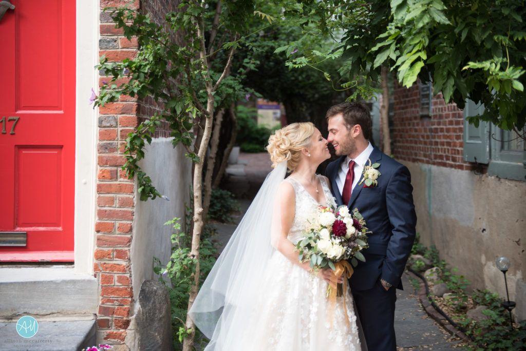 elfreth alley philadelphia wedding (With images