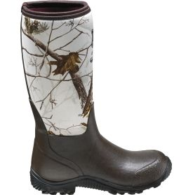 47c89ab3145 Field   Stream Women s Rutland Tracker Realtree White Waterproof Rubber  Hunting Boots - White
