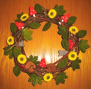 Syyskranssi - Autumn wreath