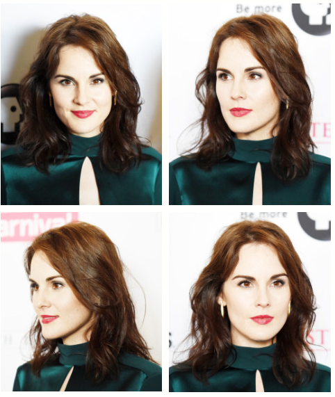 """""""Laura and I wandered around for the last time… we didn't want to leave Highclere. We went and sat on Matthew's bench."""" Michelle Dockery at the 'Downton Abbey' PBS 2015 Summer TCA Tour (x) .."""