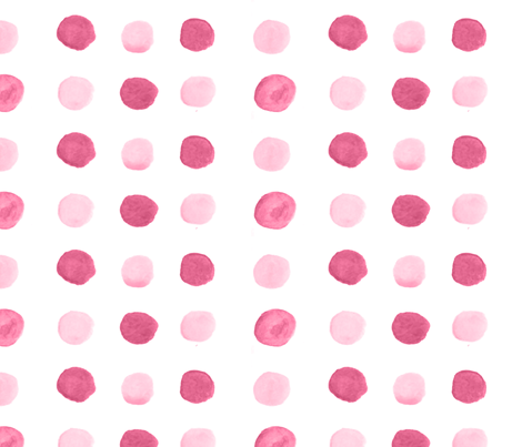 Colorful Fabrics Digitally Printed By Spoonflower Raspberry Watercolor Polka Dots Blue Polka Dots Polka Dot Fabric Fabric