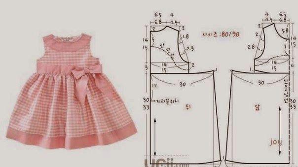 Patrones Para Hacer Vestidos Para Niñas De 3 5 Años Vestidos Bonitos Para Niña Vestidos Para Niñas Vestidos Para Bebés