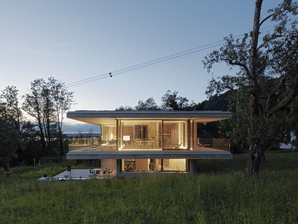 Dietrich | Untertrifaller Architekten. ArchitektenModerne HäuserHausProjekte ArchitekturfotoModerne ...