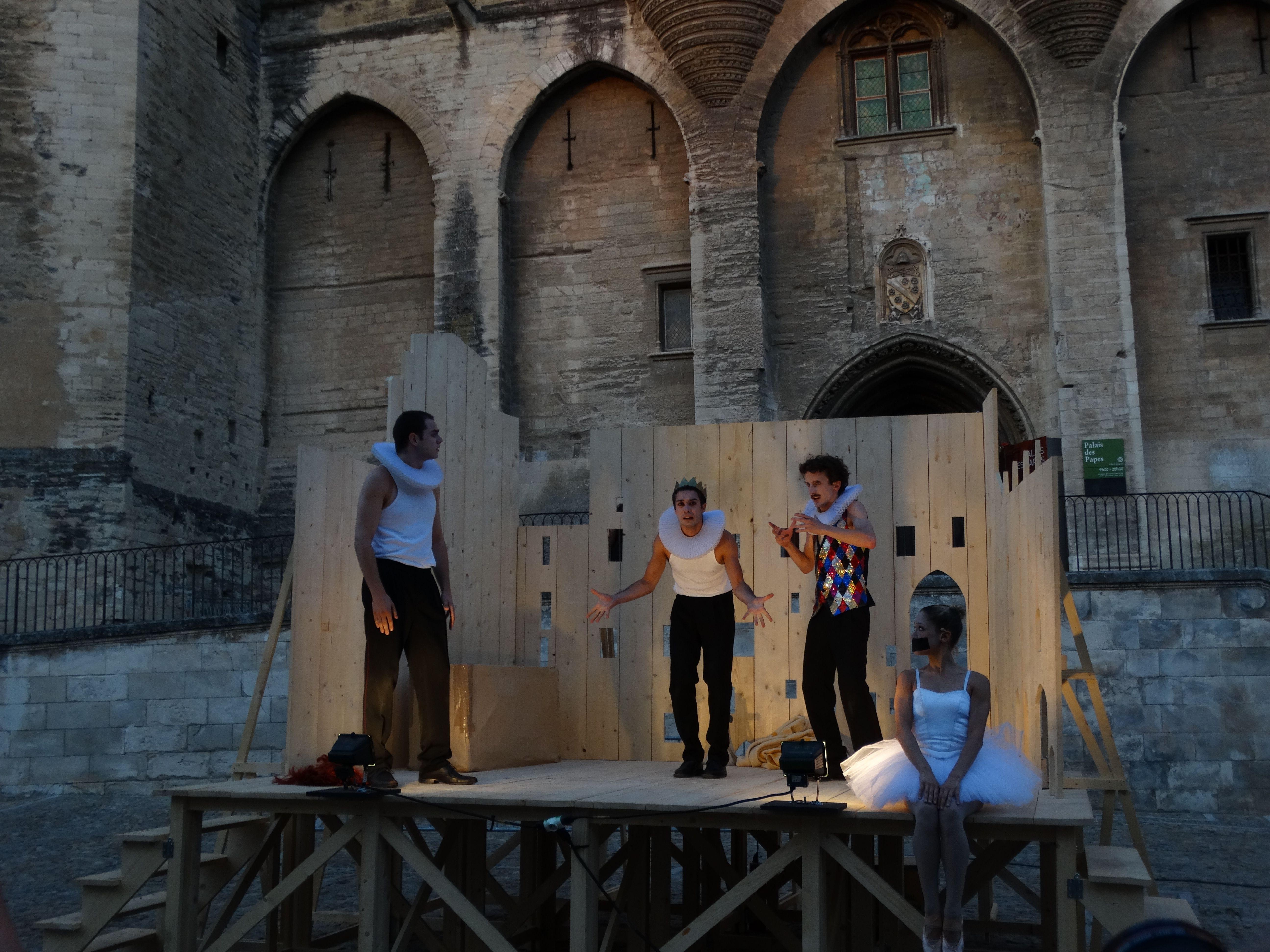 Lear Miniature (Olivier Py). Festival d'Avignon 2015