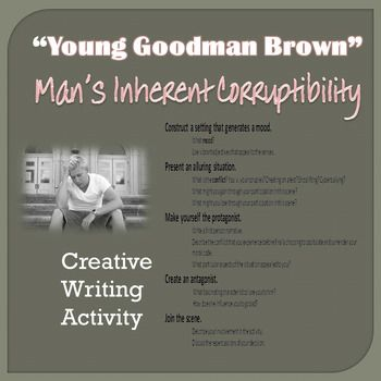 Young Goodman Brown Creative Personal Essay Digital Enabled American Literature Lesson Essays