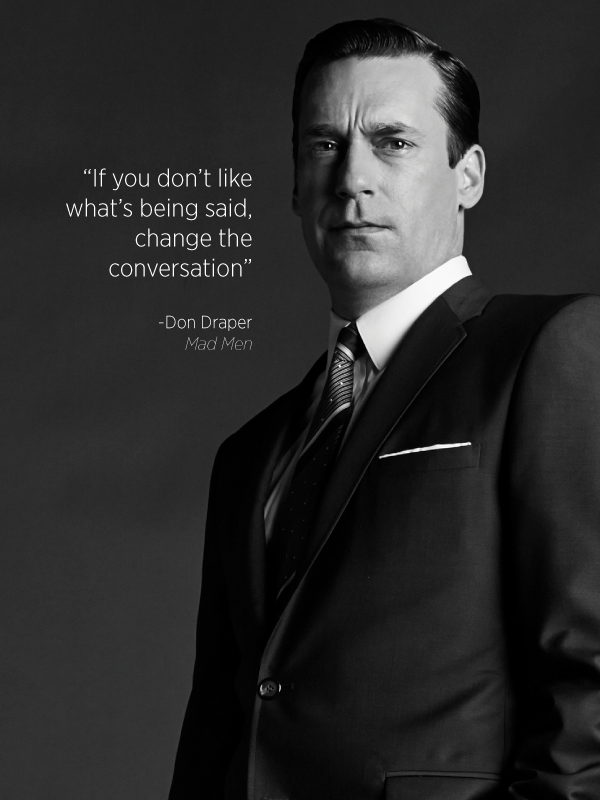 Image result for mad men quotes""