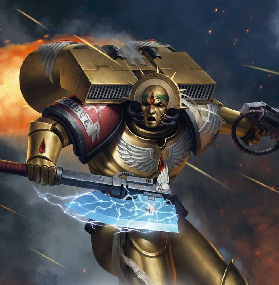 Warhammer 40k Blood Angels: Commander Dante Chapter Master Of The Blood Angels