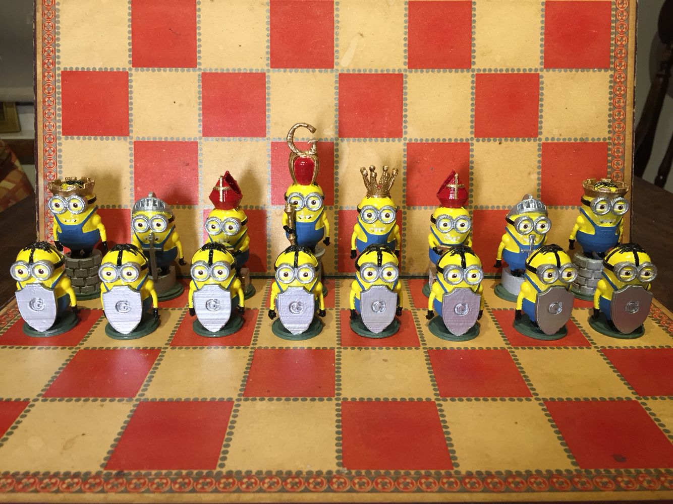 Minions Chess Set Pieces Chess Set Chess Pieces Chess Board