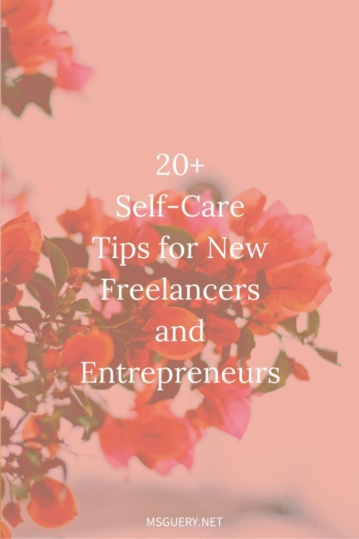 20 Self Care Tips For Solo Bosses Free Download Personal