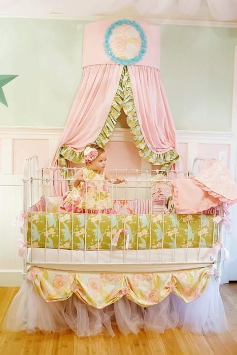 Mi Lil Princess Would Love This Over Her Bed. Addisonu0027s Wonderland: Addison  Baby Collection Crib/Toddler Skirt
