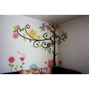 Customer Image Gallery For Roommates Repositionable Childrens Wall Stickers,  Scroll Tree Part 37