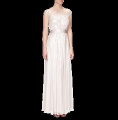 COAST Abendkleid mit aufwändigem Paillettenbesatz in Rosé | FASHION ID Online Shop