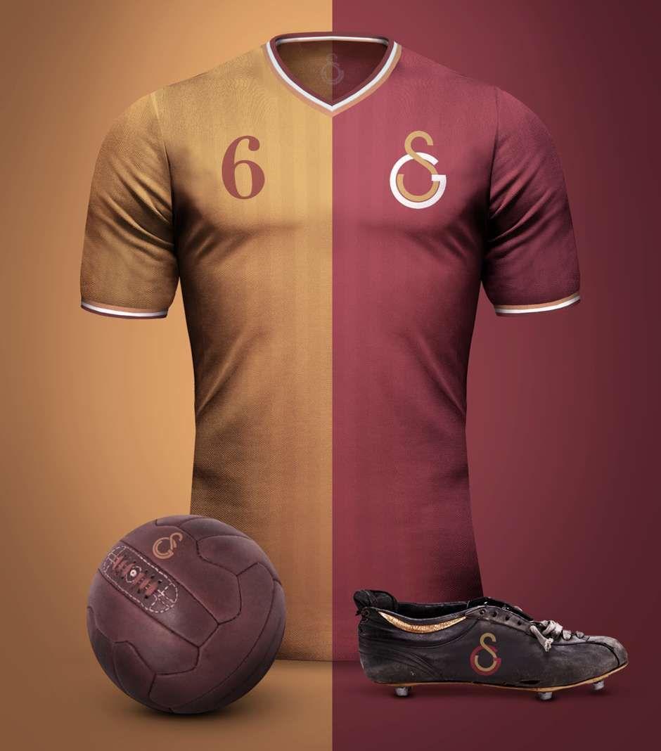 Galatasaray Vintage Kits Soccer Shirts Vintage Football