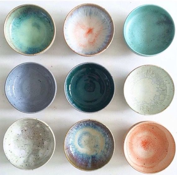 byshnordic.com gorgeous ceramics! #colourtherapy #ceramics #beautifulcolors #pastel #colourinspiration #potteryglazes