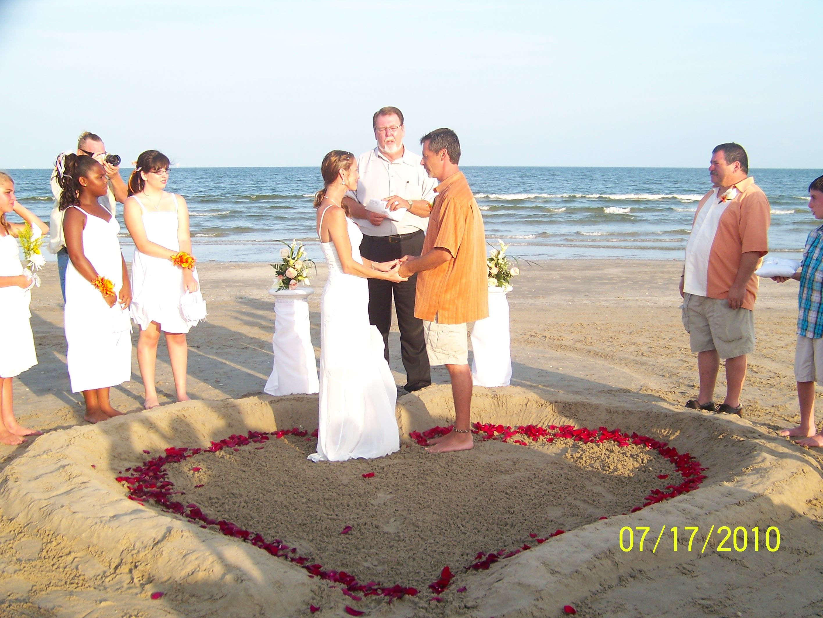 Galveston beach wedding venues mini bridal for Texas beach wedding packages